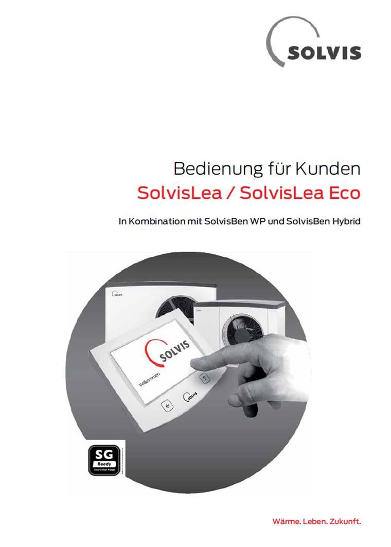 Downloads - Bedienungsanleitung SolvisTeo Wärmepumpe