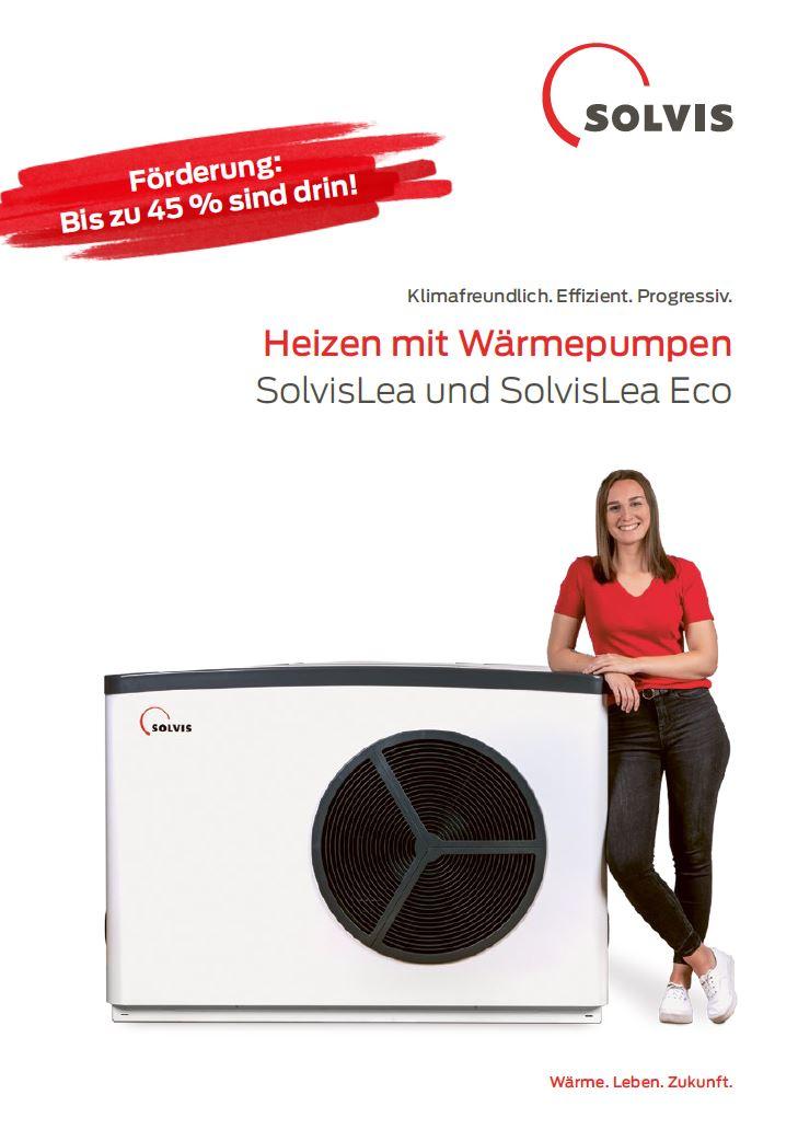Produktbroschüre SolvisLea Wärmepumpe